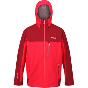 Regatta Wentwood V 3in1 Jacket Men true red/delhi red
